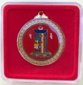 Red Kalichakra Pendant resized